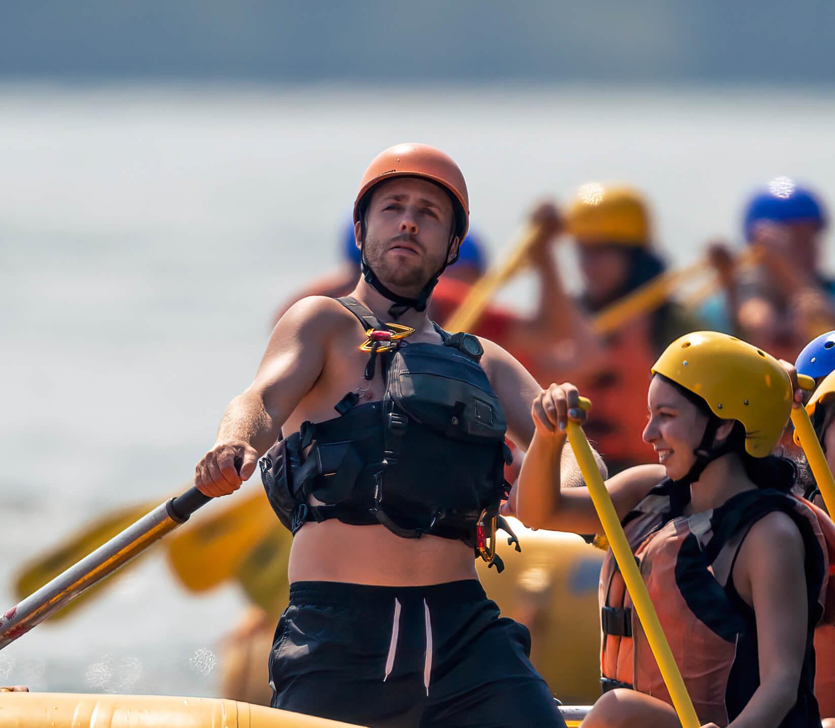 rafting montreal - jules